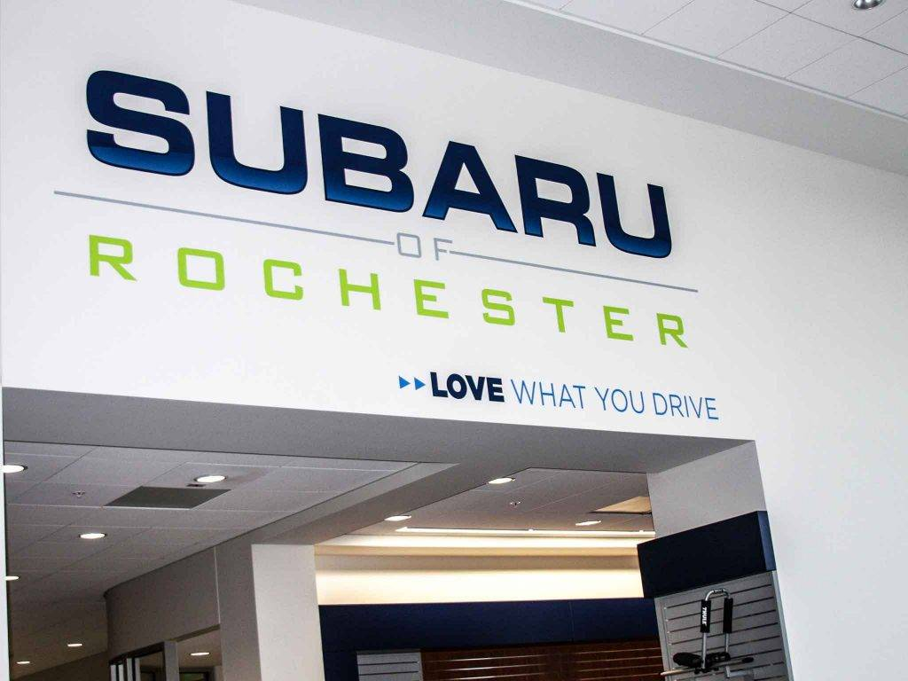 sign company in rochester